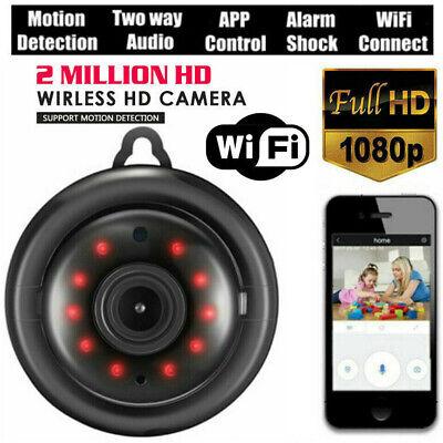Mini Wireless WIFI IP Camera HD 1080P Smart Home Security Camera Night Vision US ()