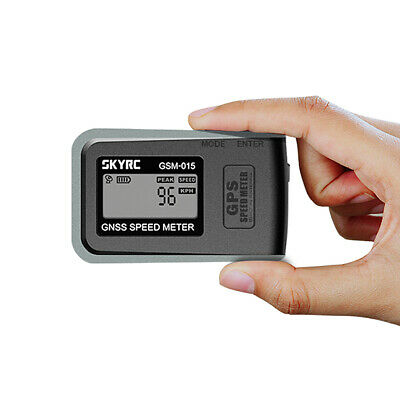 New SKYRC GSM-015 GNSS GPS Speed Meter For RC Drones Airplane Car Boat Toys T6P6