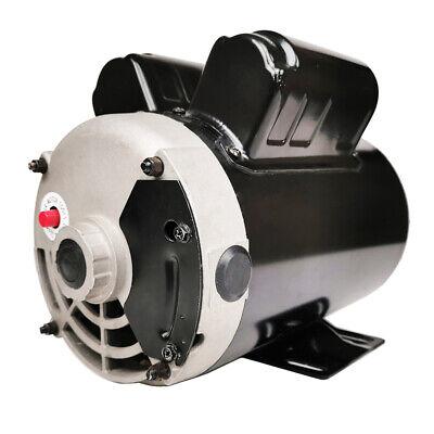 3 Hp Air Compressor Electric Motor 1 Phase 3450 Rpm 56 Frame 58 Shaft 230v