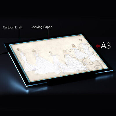 A3 21.4 Inch LED Artist Stencil Board Drawing Display Light Box Pad N9W8 for sale  Dayton