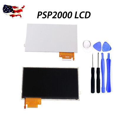 LCD Screen Backlight Replacement For Sony PSP 2000/2001/2003/2004 Series+Tool for sale  Shipping to Nigeria