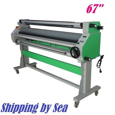 67 Economical Full - Auto Low Temp Wide Format Cold Laminator - Shipping By Sea