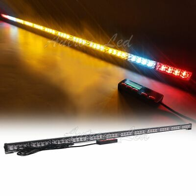 53 Led Emergency Warn Tow Truck Wrecker W Brakecargo Lights Strobe Light Bar