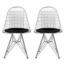 HURRY, 2 LEFT! - Replica Eames/Bertoia Wire Chair SALE! Sydney Region Preview