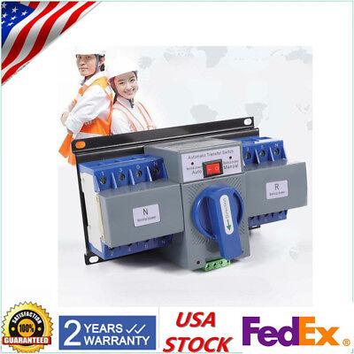 63a 4p Ats Dual Power Automatic Transfer Switch Self Cast Ac-33ib 50hz60hz 110v