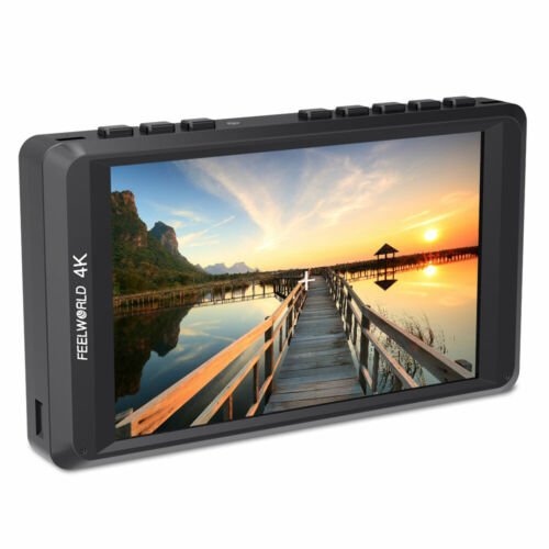 FEELWORLD FW450 4.5 Inch Camera Field Monitor 4K HDMI Small IPS HD 1280x800 LCD