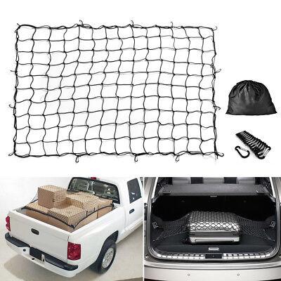 Big Bungee Cargo Net Stretch For ATV UTV Jeep Trailers Pickup Trucks Rooftops ()