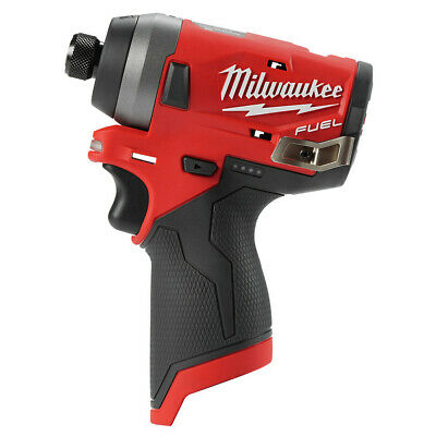 Milwaukee 2553-80 M12 FUEL Li-Ion 1/4 in. Hex Impact Driver (BT) Recon