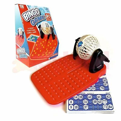Christmas Bingo Game Cards (FAMILY BINGO & LOTTERY GAME 90 NUMBER BALLS & 24 CARDS CHRISTMAS STOCKING)