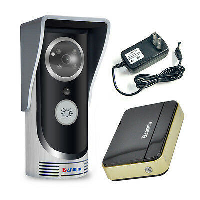 Wireless WiFi Remote Video Camera DoorPhone Doorbell Night Vision Home Security