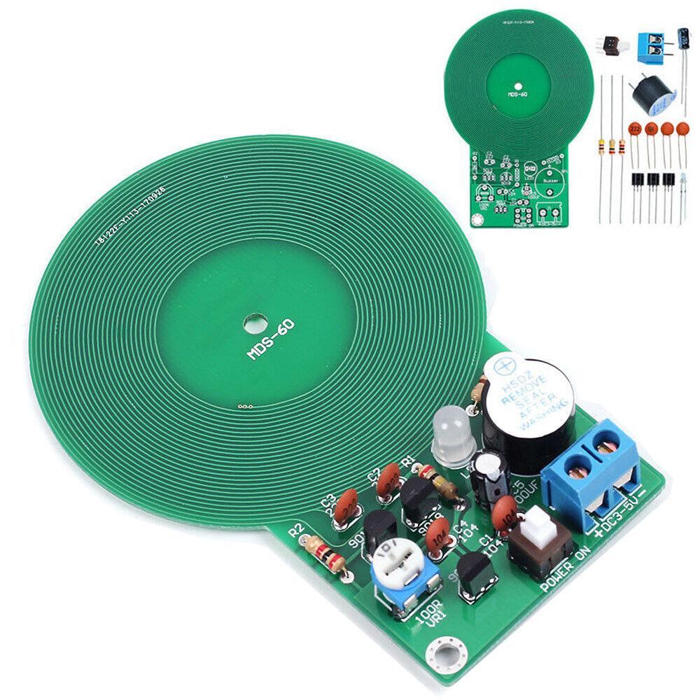 3V-5V DC 60mm Metal Detector Kit Non-contact Sensor DIY Kit Electronic Kit