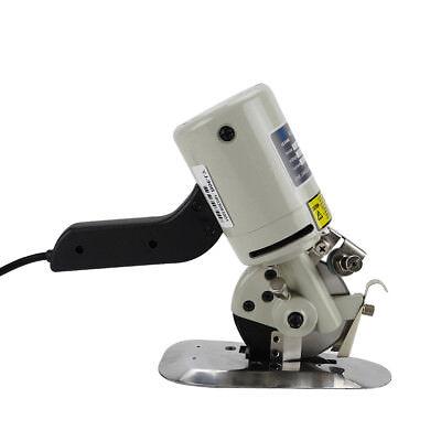 Electric Cloth Cutter 3.5 Fabric Leather Cutting Machine Round Scissors Blade