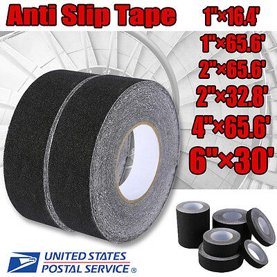 Black Bath Shower Anti Slip Tape Non Slip Strips Grip Sticker Floor Safety Grit