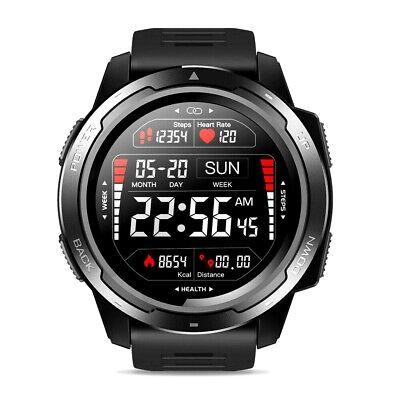 Zeblaze VIBE 5 Sport Tactical Military Smart Watch Heart Rate Sleep IP68 Black