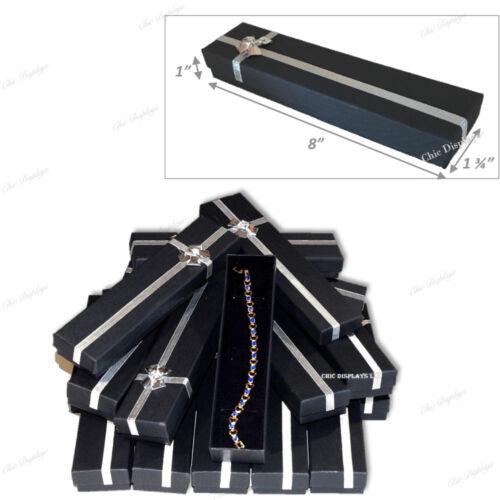 15pc Jewelry Gift Boxes for Bracelet Gift Box Black Bracelet Presentation Boxes