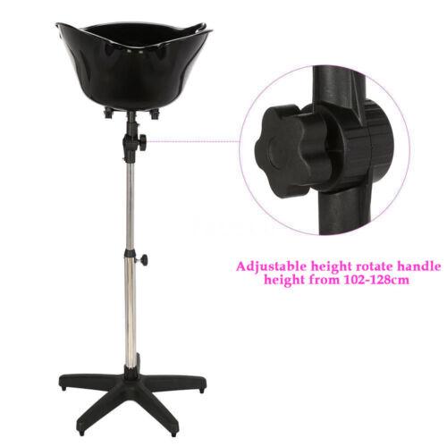 Portable Salon Deep Shampoo Basin Sink Adjustable Height Mobile Shampoo Bowl - $66.76
