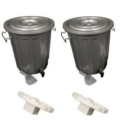 18L Double Bokashi Composter Kit - Transform Kitchen Waste into Organic Compost!
