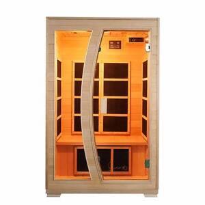 Luxo Valo 2 Person Carbon Fibre Infrared Sauna Seven Hills Blacktown Area Preview