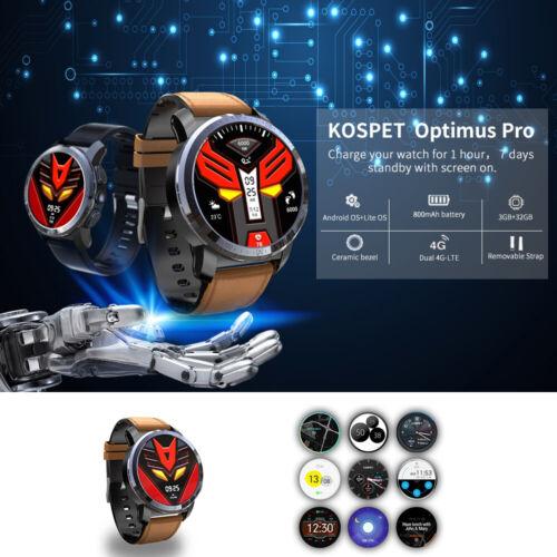 Kospet Optimus Pro Dual System Smart Watch Phone WiFi GPS An