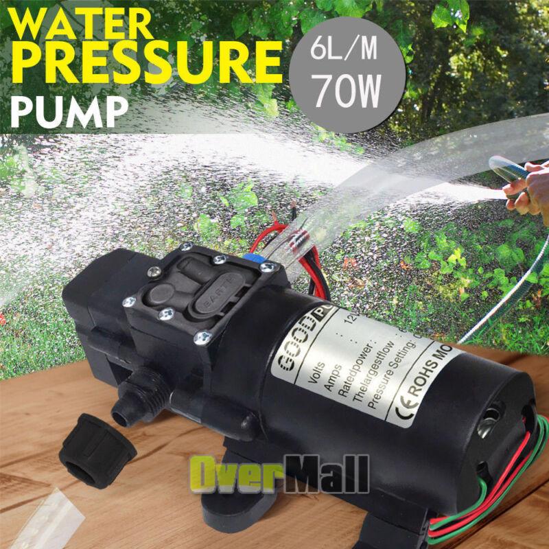 2020 NEW 12V Water Pump 130PSI Self Priming Pump Diaphragm High Pressure Auto