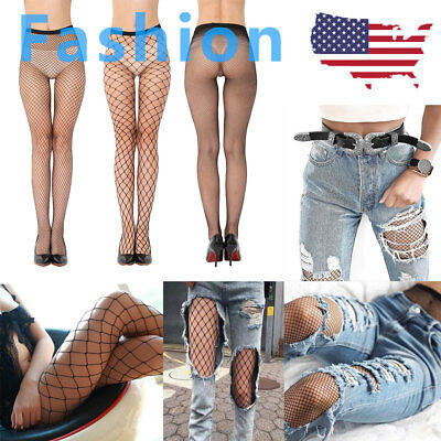 3 Pairs Hot Fashion Fishnet Socks Women Mesh Net Pantyhose Tights Stockings 2019 - Fishnet Sockings