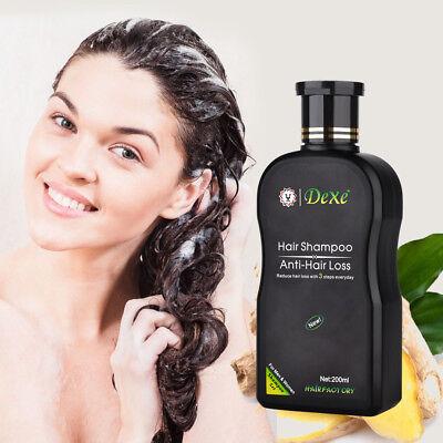 (DEXE Natural Hair Growth Essence Oil Fast Hair Growth Anti Hair Loss 200ML US)