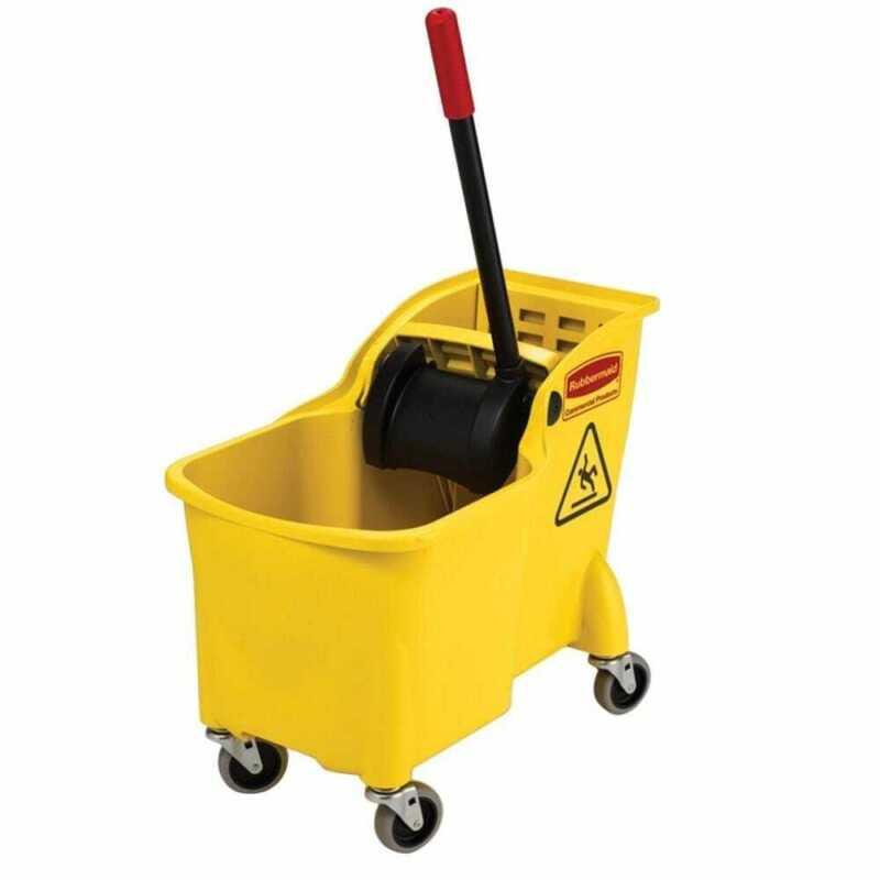 Rubbermaid Commercial Products Tandem Mop Bucket 31 Qt.
