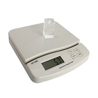 55lb X 0.01lb Digital Kitchen Packaging Shipping Postal Scale 25kg1g