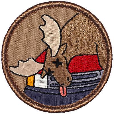 Cool Boy Scout Patches- Dead Moose Patrol! (#356) - Cool Moose