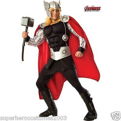The Avengers Age Of Ultron Thor Theatralisch Erwachsene Kostüm Neu Rubies 810584 ()