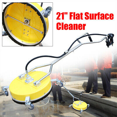 21 Stainless Steel Surface Cleaner Flat Concrete Cleaner 4000psi Us Free Ship