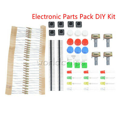 100pcs 1k Resistors Electronic Parts Pack Diy Kit For Arduino Component Switch