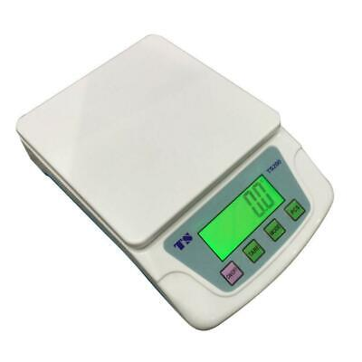 Heavy Duty 22lbs Digital Postal Scale Shipping Scale 10KG/0.5G White LCD display