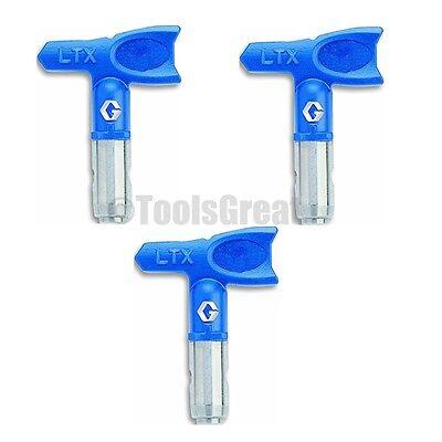 Graco Ltx517 Rac X Reversible Tip 517 Lot Of 3