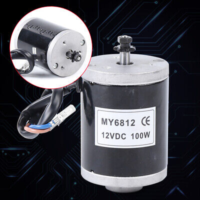 New Dc12v 100w High Speed Small Brush Motor Electric Motor For E-bike Scooter Us