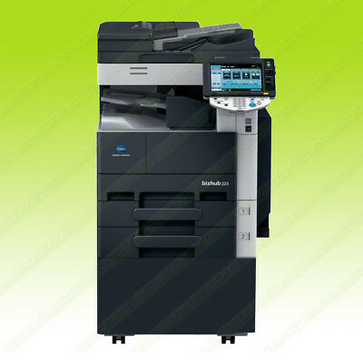 Konica Minolta Bizhub 283 Laser Mono Bw Printer Scanner Copier 28ppm A3 Mfp 423
