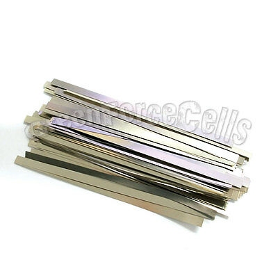 100 pcs 6.5cm Solder Tab For AA AAA SubC 10440 14500 18650 battery