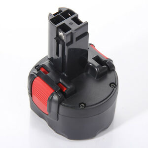 Für Bosch 2607335461 2607335260 PSR 960 GSR 9.6 Ersatz Akku 9.6V 3300mAh Ni-MH