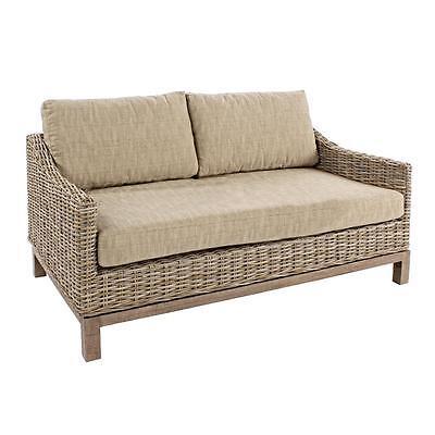 DIVANO IN RATTAN VIMINI ETNICO COLONIALE DIVANI sofà salotto salotti bamboo