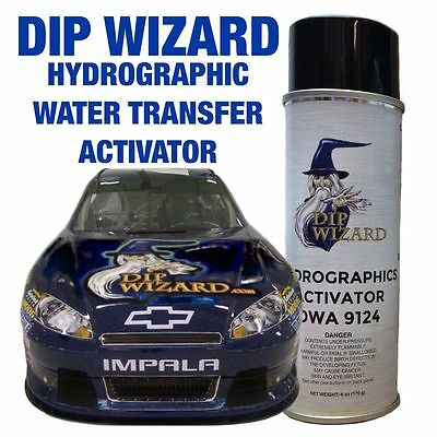 Hydrographic Film Activator 6oz Dip Wizard Aerosol Spray Can Hydrographic Hydro