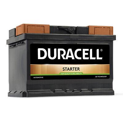 DURACELL STARTER Autobatterie 12V 55Ah Batterie PKW KFZ DS55