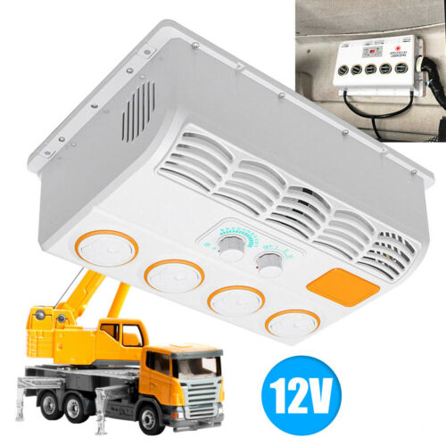12V Universal Car Hanging Wall-mount Air Conditioner Fan for