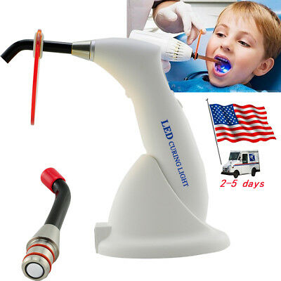Dental Wireless Led Cure Curing Light Lamp Gun Type For Clinic 10w 2000mw Usa