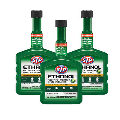 STP 17438 Ethanol Fuel System Treatment - 12 fl. oz 3 Pack