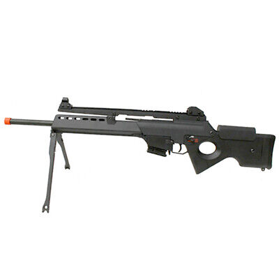 Airsoft Sniper Rifle AEG JG SL8-4 Gun X36 Full Auto Electric Metal Gearbox