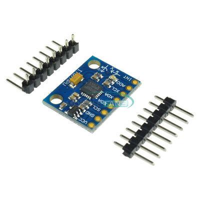 Mpu-6050 3 Axis Gyroscope Accelerometer Module 3v-5v Compatible Arduino