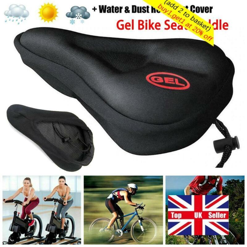 Soft 3D Gel Bike Saddle Cover  Bicycle Seat  Bike Cushion Pa