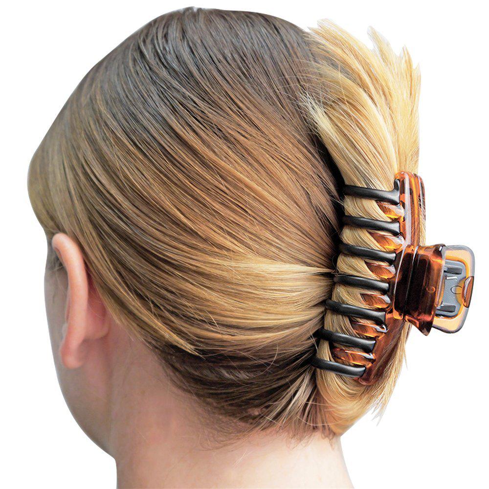 Revlon Women Girls Strong Hair Clip Claw Bun Holder Comb Hai
