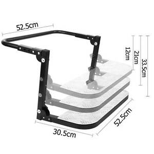 FREE SHIPPING - Fully Adjustable Wheel Folding Step Stair Melbourne CBD Melbourne City Preview