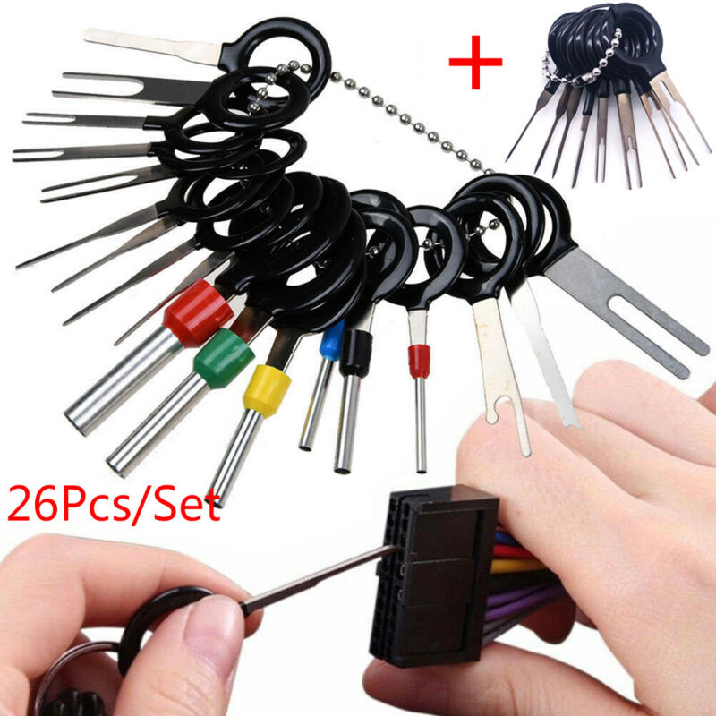 Automotive Pin Extractor Kit Wire Plug Car Terminal Removal